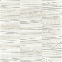 Lithos Grey Geometric Marble Wallpaper