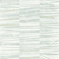 Lithos Sage Geometric Marble Wallpaper