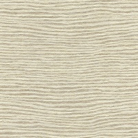 Mabe Off-White Faux Grasscloth Wallpaper
