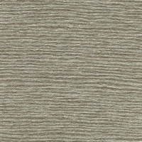 Mabe Taupe Faux Grasscloth Wallpaper