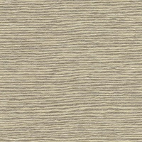 Mabe Beige Faux Grasscloth Wallpaper