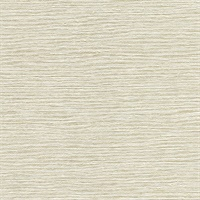 Mabe Cream Faux Grasscloth Wallpaper