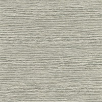 Mabe Grey Faux Grasscloth Wallpaper