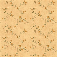 Maisy Beige Floral Trail Wallpaper