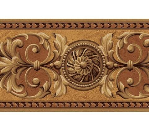 Medallion Wallpaper Border