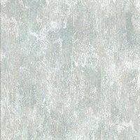 Micah Teal Distressed Texture Wallpaper
