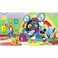 Disney Mickey & Friends Clubhouse Capers Pre-Pasted Mural