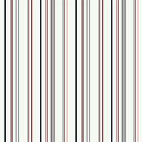Wide Multi Stripe Wallpaper