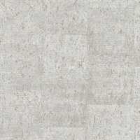 Millau Light Grey Faux Concrete Wallpaper