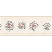 Mini Bouquet Wallpaper Border