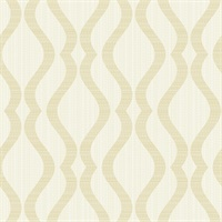 Mirabelle Silver Stripe Wallpaper