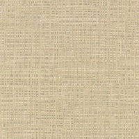 Montgomery Khaki Faux Grasscloth Wallpaper