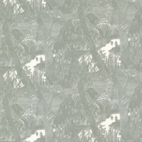 Moominvalley Dark Grey Forest Wallpaper