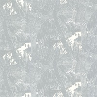 Moominvalley Light Grey Forest Wallpaper