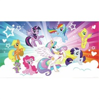 My Little Pony Cloud Burst Pre-Pasted Mural