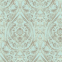 Nomad Damask, Peel and Stick