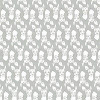 Oh Deer Grey Animal Wallpaper