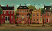 Olde Town - Wall Mural