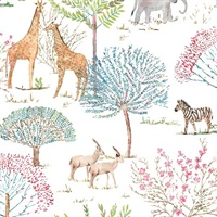 On The Savanna Wallpaper