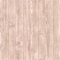 Orchard Light Grey Wood Panel Wallpaper