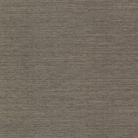 Oscar Brown Faux Fabric Wallpaper