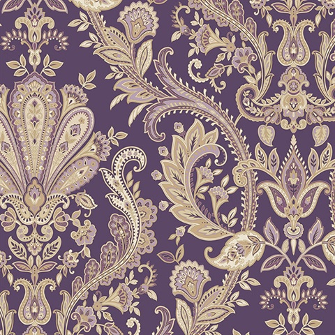 Jacobean Paisley Wallpaper