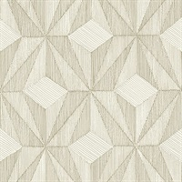 Paragon Gold Geometric Wallpaper