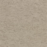 Pembroke Brown Faux Plaster Wallpaper