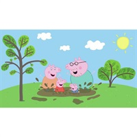Peppa Pig Pre-Pasted Mural