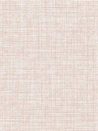 Poise Pink Linen Wallpaper