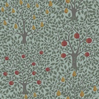 Pomona Green Fruit Tree Wallpaper