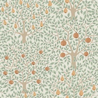 Pomona Multicolor Fruit Tree Wallpaper