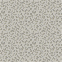 Posey Beige Vines Wallpaper
