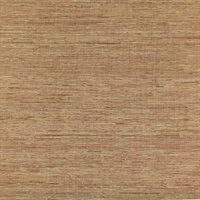 Red Natural Fiber Grasscloth