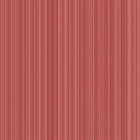 Red Stria Stripe Wallpaper