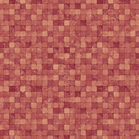 Red Textured Tiles Wallpaper