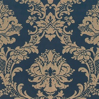 In Register Classic Damask Wallpaper