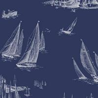 Sailboats Toile