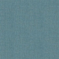 Seaton Aquamarine Faux Grasscloth Wallpaper