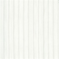 Silva White Wood Panelling Wallpaper