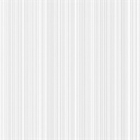 Silver Stria Stripe Wallpaper