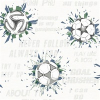 Soccer Ball Blast Wallpaper