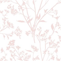 Southport Blush Delicate Branches Wallpaper