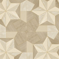 Inlay Wood Wallpaper