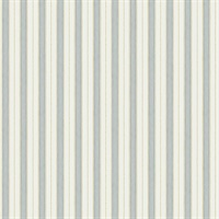 Symphony Light Blue Stripe Wallpaper