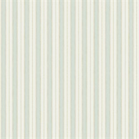 Symphony Sage Stripe Wallpaper