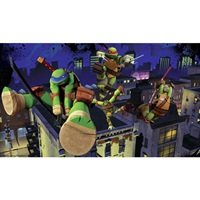 Teenage Mutant Ninja Turtles Cityscape Pre-Pasted Mural