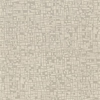 Tiffany Taupe Abstract Geometric Wallpaper