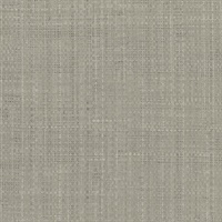 Tiki Grey Faux Grasscloth Wallpaper