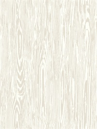 Ashford House Timber Wallpaper - Pearl